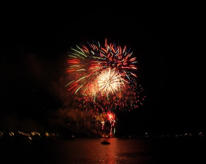 Plymouth Hoe 2014 Fireworks Championships 2015