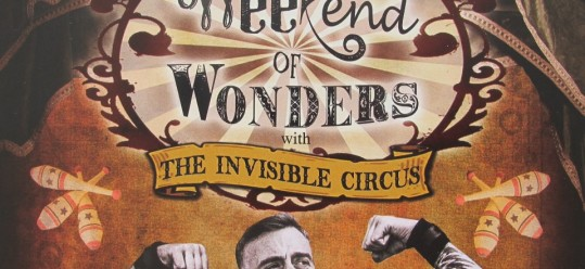 Weekend of Wonders with The Invisible Circus at the Royal William Yard, Plymouth. 6th September 2015.